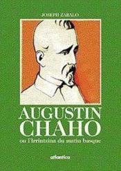 Augustin Chaho Ou Lirrintzina Du Matin Basque - Couverture - Format classique