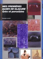 Mes Premieres Bases De Glacures - Intérieur - Format classique