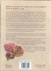 Point De Croix Et Autres Secrets De Broderie - 4ème de couverture - Format classique