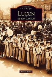 Luçon et son canton - Couverture - Format classique
