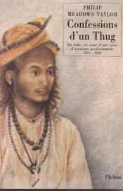Confessions D Un Thug - Couverture - Format classique
