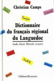 Dictionnaire du francais regional du languedoc - Couverture - Format classique