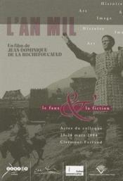 Le faux et la fiction ; actes du colloque du 23-24 mars 2004 tenu à Clermont-Ferrand - Couverture - Format classique