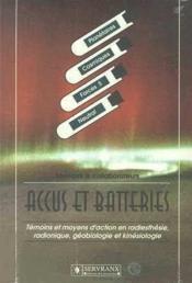 Accus Et Batteries - Couverture - Format classique