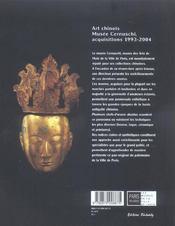 Art Chinois - 4ème de couverture - Format classique