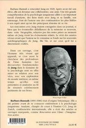 Jung - Sa Vie Et Son Oeuvre - 4ème de couverture - Format classique