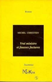 Vrai ministre et fausses factures - Couverture - Format classique