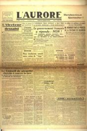Aurore (L') N°445 du 17/01/1946 - Couverture - Format classique