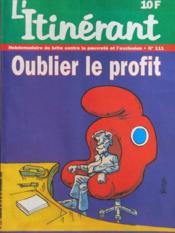 Itinerant (L') N°111 du 19/11/1996 - Couverture - Format classique