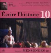 Ecrire L'Histoire N.10 - Couverture - Format classique