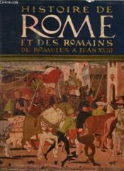 2 Tomes. Histoire De Paris Et Des Parisiens. Histoire De Rome Et Des Romains De Romulus A Jean Xxiii. - Couverture - Format classique