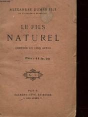 Le Fils Naturel - Couverture - Format classique