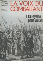 La Voix Du Combattant - La Fayette Nous Voila ! - N°1415 - Couverture - Format classique
