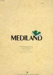 Brochure Publicitaire. Mediland - Couverture - Format classique