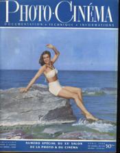 PHOTO CINEMA - DOCUMENTATION - TECHNIQUE - INFORMATIONS - 29e ANNEE - N°570 - Couverture - Format classique