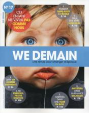 Vente livre :  WE DEMAIN N.17  - Cutler/Spieser - Collectif - We Demain