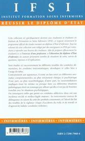 Soins Infirmiers Aux Personnes Atteintes De Troubles De La Conduite Alimentaire Toxicomaniaques Alco - 4ème de couverture - Format classique