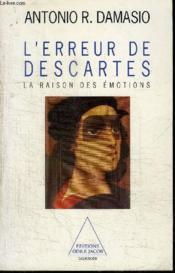 L'Erreur De Descartes - Couverture - Format classique