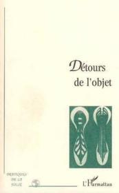 Detours De L'Objet - Couverture - Format classique