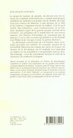 Jean-Jacques Audubon (1785-1851) - 4ème de couverture - Format classique