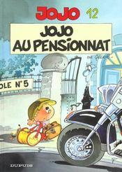 Jojo t.12 ; jojo au pensionnat - Intérieur - Format classique