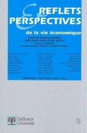 Revue Reflets Et Perspectives T.3 ; Sport Et Mondialisation ; Quel Enjeu Pour Le Xx Siècle - Couverture - Format classique