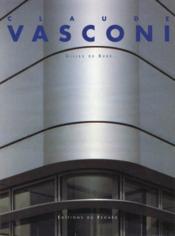 Claude Vasconi - Couverture - Format classique