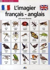 L'imagier français/anglais - Intérieur - Format classique