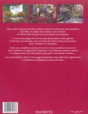 Fleurir Les Terrasses Et Balcons - 4ème de couverture - Format classique