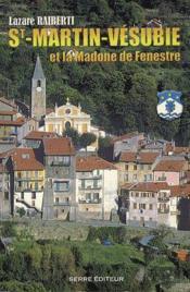 Saint Martin, Vésubie et la Madone de Fenestre - Couverture - Format classique