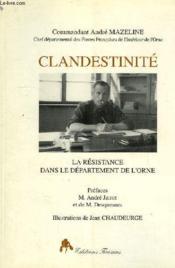 Clandestinite - Couverture - Format classique