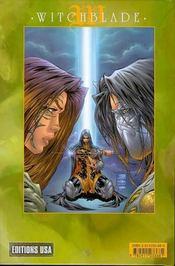 Witchblade T.8 - 4ème de couverture - Format classique