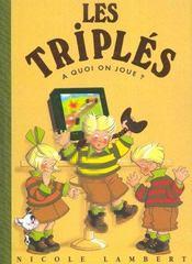 Triples A Quoi On Joue T9 - Intérieur - Format classique