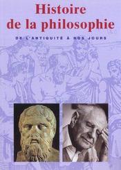 Histoire De La Philosophie - Intérieur - Format classique