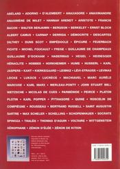 Histoire De La Philosophie - 4ème de couverture - Format classique