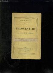 Innocent Iii. La Papaute Et L Empire. - Couverture - Format classique