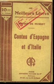 Contes D'Espagne Et D'Italie. Collection : Les Meilleurs Livres N° 73. - Couverture - Format classique