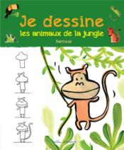 Vente  Je dessine ; les animaux de la jungle  - Barroux - Stephane Barroux