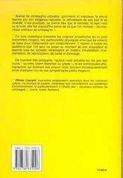 Souris (Les) - 4ème de couverture - Format classique