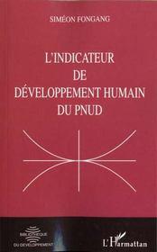 L'Indicateur De Developpement Humain Du Pnud - Intérieur - Format classique