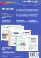 Paint Shop Pro 9 - 4ème de couverture - Format classique