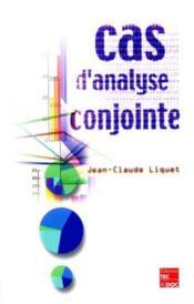 Cas d'analyse conjointe - Couverture - Format classique