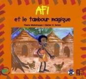 Afi Et Le Tambour Magique - Couverture - Format classique