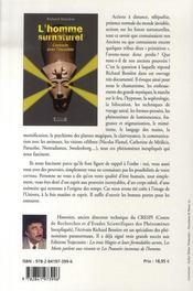 L'homme surnaturel ; contacts avec l'invisible - 4ème de couverture - Format classique