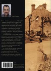 La seconde guerre mondiale à alençon - 4ème de couverture - Format classique