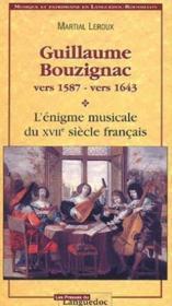 Guillaume Bouzignac (Vers 1587-Vers 1643) - Couverture - Format classique