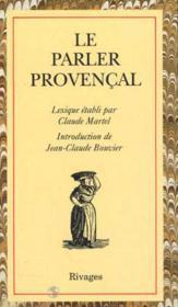 Le Parler Provencal - Couverture - Format classique