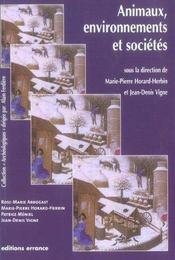 Animaux, Environnement Et Societes - Intérieur - Format classique