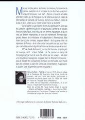 Ces femmes espagnoles - 4ème de couverture - Format classique