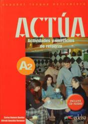 Actua A2 Livre - Couverture - Format classique